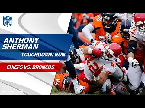 Video: Patrick Mahomes' TD Strike to Anthony Sherman Caps Off KC Drive! | Chiefs vs. Broncos | NFL Wk 17