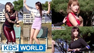 Video Unnies try out for TWICE, AOA, Girl's Day outfits! [Sister's SlamDunk2 / 2017.04.28] MP3, 3GP, MP4, WEBM, AVI, FLV Januari 2019