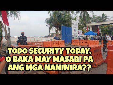 Strict distancing sila ngayon sa white sand ng Manila Bay