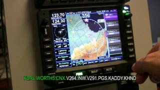 Avidyne IFD540 - Easy Flight Plan Entry