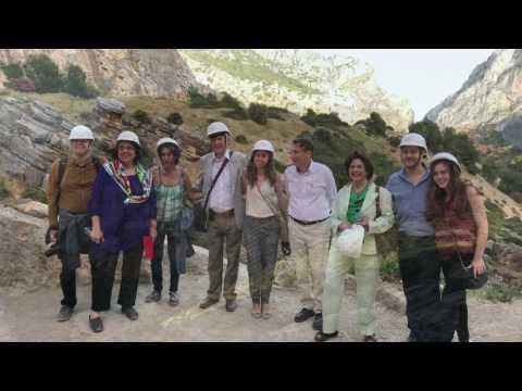 Caminito del Rey. Visita Europa Nostrum 250517