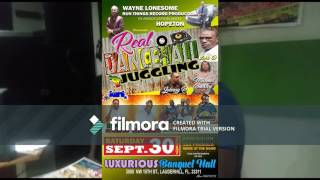 Junior Ried advert- for Wayne lonesome - Run Things Records- in association with hopeton- presents Real dancehall Juggling at...
