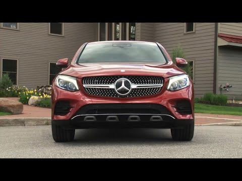 Simple 2017 MercedesBenz GLC Coupe  Full Review  CarUltra
