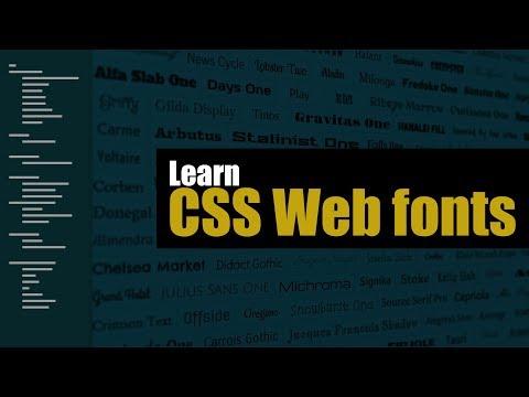 Understanding Web Fonts in HTML | Eduonix