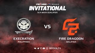 Execration против Fire Dragoon, Первая карта, SEA квалификация SL i-League Invitational S3
