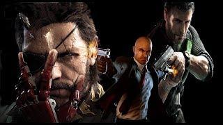 Download Lagu Splinter Cell vs MGS vs Hitman: Best Kills in Third Person Games Mp3