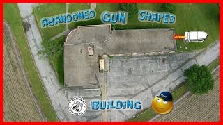 Pontiac (IL) United States  city pictures gallery : Abandoned Illinois State Highway Patrol Gun Shaped Building On Route 66 In Pontiac, Illinois