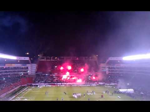 Recibimiento Liga de Quito - Semifinal Sudamericana 2011 LDU vs. Velez - Muerte Blanca - LDU