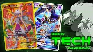 Pokémon TCG Deck Profile - Mewtwo EX/Lunala GX! | Deck Tech Thursday #42 by The Pokémon Evolutionaries