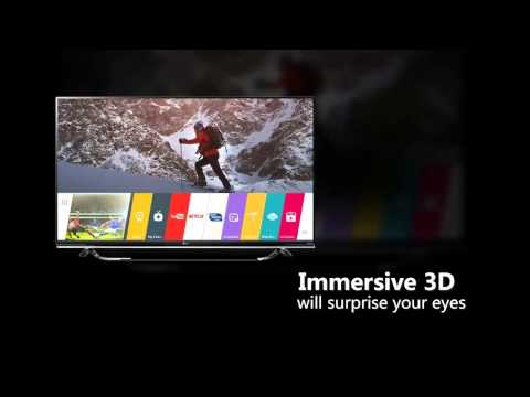 LG Electronics 60UF8500 60-inch 4K Ultra HD 3D Smart LED TV (2015 Model) Overview