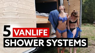 5 GREAT VANLIFE SHOWER SYSTEMS 🚿🚐 by Nate Murphy