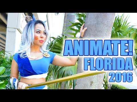 Animate Florida 2016 Cosplay Music Video