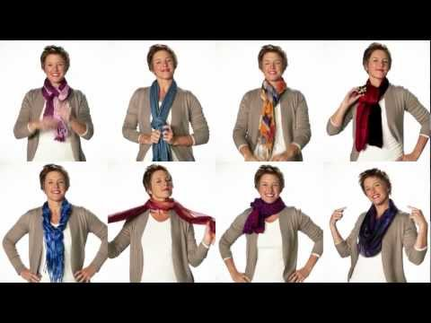 Many Ways To Wear A Scarf!!