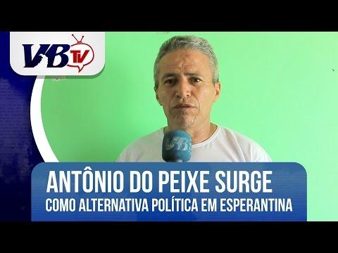 VBTv | Antonio do Peixe surge como alternativa no cenário político de Esperantina