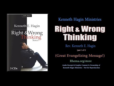 """""""Right & Wrong Thinking"""" pt.1/3  