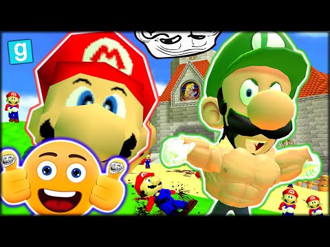 WHO'S YOUR DADDY, MARIO?? FUNNIEST VIDEO EVER!! GMOD: GUESS WHO - MARIO (Garry's Mod Funny Moments)