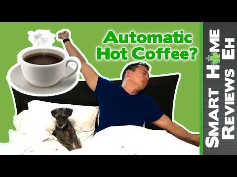 How to wake up to HOT coffee automatically - Smart Home Automations