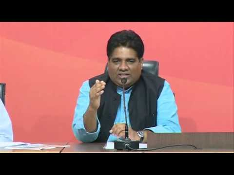 Joint Press Conference by Shri Ravi Shankar Prasad & Shri Bhupender Yadav at BJP HQ, New Delhi
