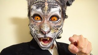 Video タイガーメイク方法(化粧)Tiger Makeup Tutorial MP3, 3GP, MP4, WEBM, AVI, FLV November 2018