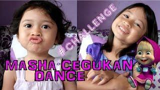 Masha bengek Masha cegukan challenge   Hiccup, ngik ngik song Masha  - Chelona Chelia