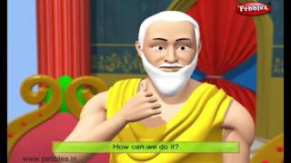 Pebbles present Moral Stories of Akbar And Birbal in English for kids. The most popular Birbal Moral Stories in English for Children with 3D Animation. The m...