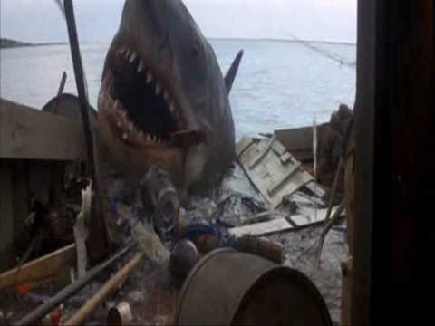 The Ending of Jaws - DOUBLE SPEED