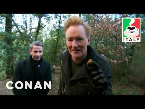 Conan & Jordan Schlansky Go Truffle Hunting - CONAN on TBS
