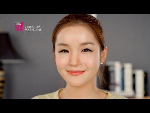 女生必看!韓國女孩化妝技巧 讓你傻眼了!男人們為了自身權益千萬不要轉發出去阿