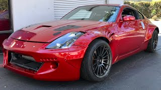 How I Crashed my 350z into the Wall... by TJ Hunt