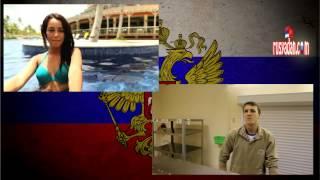 Rusya'da genç askerlerden 8 Mart Kutlaması