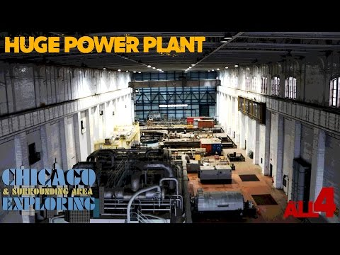 Huge Abandoned Chicago Power Plant