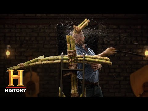 Forged in Fire: Arming Sword and Greek Kopis Tests (Season 6) | History