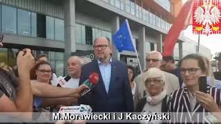 Nikt tak jak Ty nie potrafił wytknąć z humorem bezczelnych kłamstw Morawieckiego.