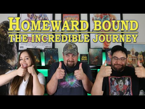 Homeward Bound THE INCREDIBLE JOURNEY (1993) Trailer Reaction/Review - Better Late Than Never Ep 103