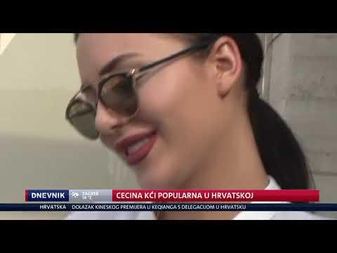 Anastasija u centralnom dnevniku! Njena pesma je najslušanija u Hrvatskoj