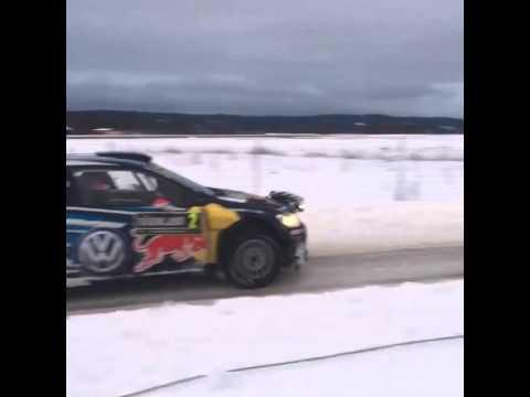 WRC Rally Sweden 2015 - JariMatti Latvala off SS9 Torsby 2