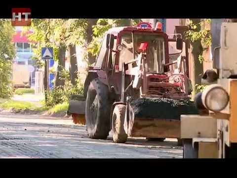 Дороги Новгородчины: Зрители Новгородского телевидения жалуются на ремонт улицы Мусы Джалиля – Духовская