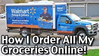 Subscribe to Living On A Dime on YouTube! http://bit.ly/1QDDmbNVisit Our Website: http://www.LivingOnADime.com/Free e-Mail Newsletter: http://bit.ly/1LfQf4yHow I Order All My Groceries Online! Walmart Grocery DeliveryIn this video, I share how I order all my groceries online using Walmart's online ordering and home delivery. This grocery delivery service is great and has made my life a lot easier! Join me as I walk you through the ordering process and then see the Walmart home delivery truck arrive at our home.Feed A Family Of 4 For $150 A Month Without Coupons!http://www.livingonadime.com/feed-family-of-4-150-month-without-coupons/Find all of our books, including our Dining On a Dime cookbook here:http://www.livingonadime.com/store/Stop Eating Your Way Into Debt!http://www.livingonadime.com/stop-eating-debt/10 Crockpot Recipes Under $5 – Easy Meals Your Family Will Love!http://www.livingonadime.com/cheap-easy-crockpot-recipes/How To Save Money On Groceries e-Coursehttp://www.livingonadime.com/save-money-groceries-bill-ecourse/Get my How To Make Soap For Beginners e-Course here:http://www.livingonadime.com/how-to-make-soap-for-beginners/My Homemade Soap Channel - How to Make Soap On A Dimehttp://bit.ly/2m4nOSGBJ's YouTube Channelhttps://www.youtube.com/channel/UC_eboJJ346s-qIcysCTr3tAElly's YouTube Channelhttps://www.youtube.com/channel/UCcLi_6mgUNux0IqoADCd1aAFor More Easy Ideas, Visit Our Website: http://www.LivingOnADime.com/Our mailing address:Living On A DimeP.O. Box 193Mead, CO 80542You can send us an e-mail here:http://www.livingonadime.com/contact/**********************The equipment we use for our videosThe camera: for recipes: http://amzn.to/2azAcGZfor on the go shots: http://amzn.to/2amE3HKfor Live videos: http://amzn.to/2amDVs4The lights: http://amzn.to/2acLdM2The editing software:http://amzn.to/2aHsdYpThe computer: http://amzn.to/2ap7Ik2For Audio: http://amzn.to/2amF82cPlease note some of these links are affiliate links and we use them to bring you more recipes and tips! Thanks for your support! :-)________________________ OUR FREE NEWSLETTER!http://www.livingonadime.com/newsletter-signups/SUBSCRIBE TO OUR YOUTUBE CHANNEL!http://www.youtube.com/subscription_center?add_user=mkellam2OUR FACEBOOK! https://www.facebook.com/livingonadimeOUR PINTEREST! https://www.pinterest.com/livingonadime/#walmartgrocerydelivery#walmartdelivery#walmartonlinegrocery#walmartgrocerypickup#walmartonlineshopping#foodstoredelivery#grocerydelivery#groceryorderingservice#onlinegrocerycompanies#bestonlinesupermarketdelivery#besthomedeliverygroceries#homedeliverygroceryshopping#grocerydeliveryreview