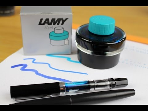 INK REVIEW : LAMY Turquoise
