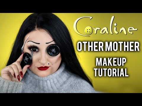 OTHER MOTHER | CORALINE HALLOWEEN COSTUME MAKEUP TUTORIAL