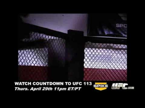 Bonus Scenes from Countdown to UFC 113 Preview Video