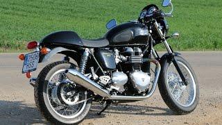 3. Triumph Thruxton 900 - Prueba