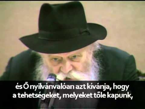 A Lubavicsi Rebbe: Nagy üzlet