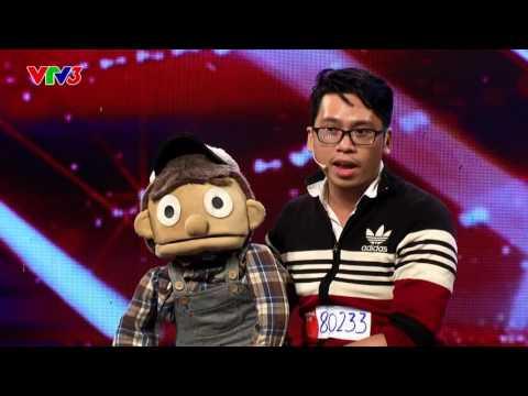 Nói tiếng bụng - Nguyễn Trần Hoàng Bảo - Vietnam's Got Talent 2016