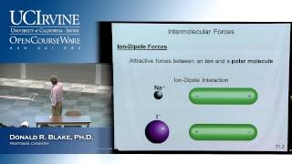 General Chemistry 1B. Lecture 2. Intermolecular Forces Liquids&Solids, Part II