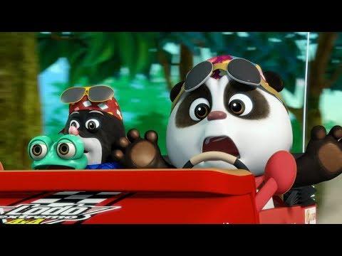Мультики 2017! Кротик и Панда - Парк развлечений + Пульт управления - Мультфильмы для детей