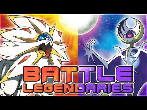Pokemon Sun and Moon | Battle! Legendary Pokemon