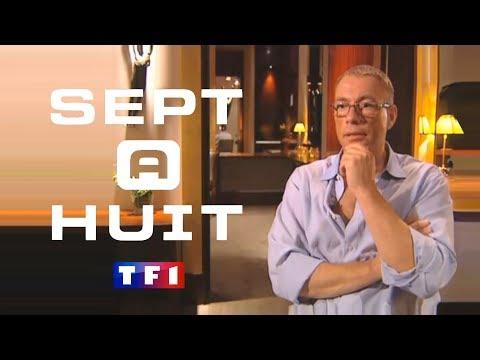 JCVD - Sept à Huit - TF1 ( Interview en français ) Jean-Claude Van Damme , 2005