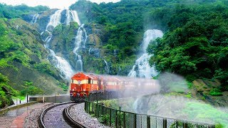 Video TOP 10 Most Beautiful Railway Routes In INDIA | भारत में 10 सबसे सुंदर रेलवे की सवारी MP3, 3GP, MP4, WEBM, AVI, FLV Oktober 2018