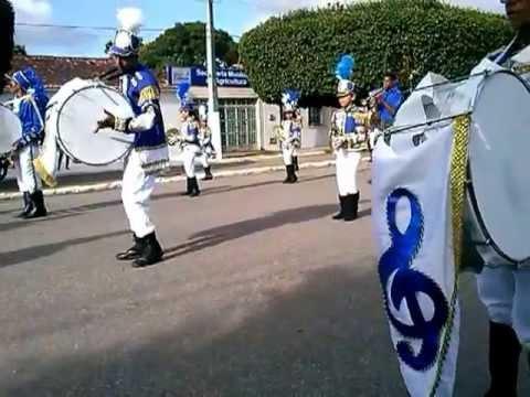 Banda Marcial João Marinho Filho - Santo Amaro das Brotas/SE